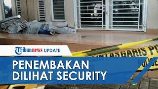 Penembakan Pengusaha Pelayaran di Jakarta Utara Sempat Dilihat Security, Pelaku Kabur Lompat Pagar