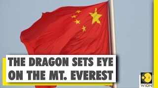 China extends its claim on the world's highest mountain peak Mt. Everest