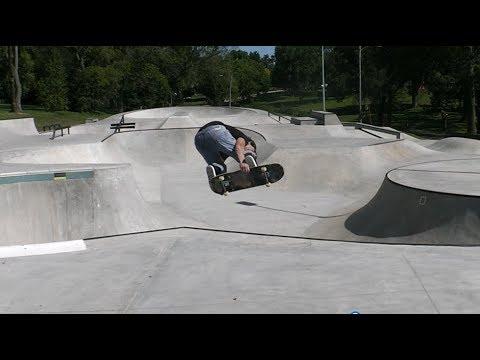 Dubuque, Iowa Flora Skatepark Montage - Brandon Hanson.