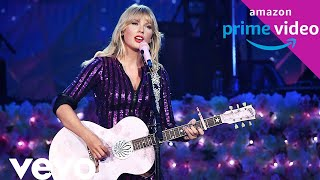 Taylor Swift   Welcome To New York Acoustic 1080 HD (Live Amazon Prime Concert 2019)