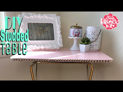 Dollar Store Side Table Using Paper Towel Holders Youtube Download