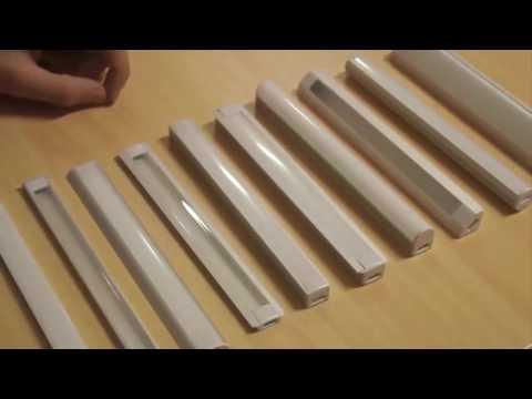 LED Aluminium Profile für LED Streifen