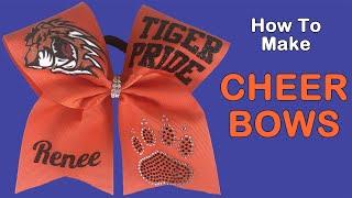 Make Cheer Bows