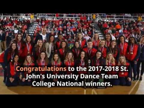 St. John's Dance Team Takes Top Honors at National Competition