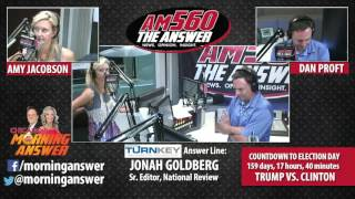 Chicago's Morning Answer - Interview-Jonah Goldberg - June 1, 2016
