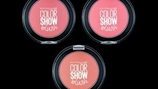 Maybelline Color Show Blush - Blush On