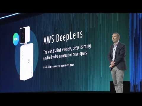 AWS re:Invent 2017 –  Announcing AWS DeepLens