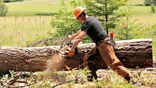 Learn How to Use a Chainsaw Mill (ft. Wranglerstar)