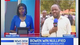 Marakwet East residents talk about court nullifying MP Kangogo Bowen's election win