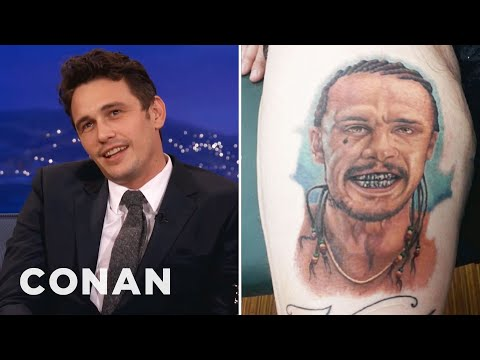 James Franco Is Freaked Out By Fan Tattoos