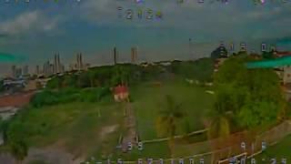 """Bateria 4.000mah 30C teste de autonomia para drone racer 5"""" LR GEPRC Mark2 - PRIMEIRO Vôo de Teste."""