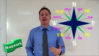 Geography Mapwork 16 Compass Directions