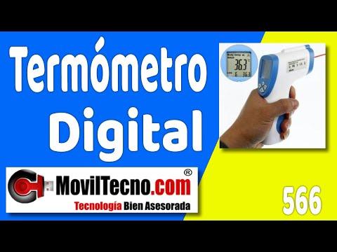 Termómetro para niños pistola por infrarrojos en Moviltecno.com