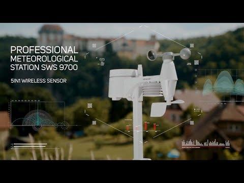 Profesionāla meteoroloģiskā stacija Sencor SWS 9700 cena un informācija | Meteostacijas, termometri | 220.lv
