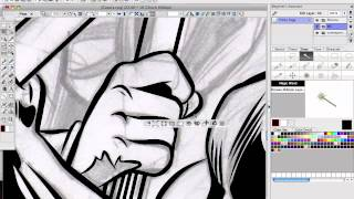 Digital Inking in Manga Studio