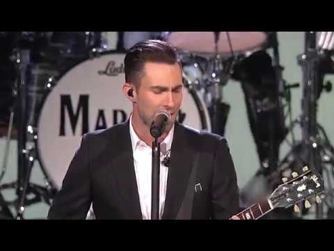 Maroon 5  -  All My Loving  /  Ticket To Ride (Tribute to The Beatles, 2014), 720p, HQ audio