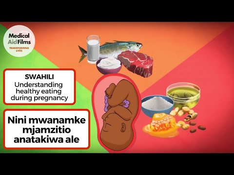 Nini mwanamke mjamzitio anatakiwa ale