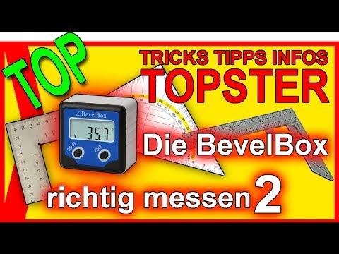 TOP DIY: Die Bevelbox - richtig messen (2)