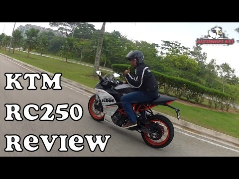 KTM RC250 brief review