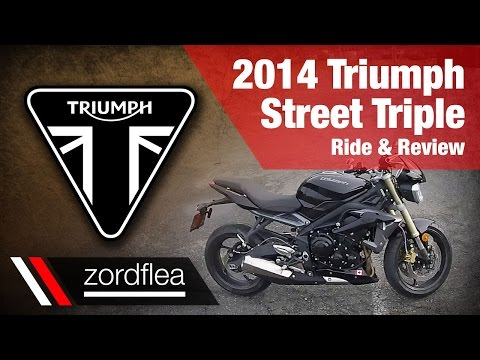 2014 Triumph Street Triple - Ride and Review