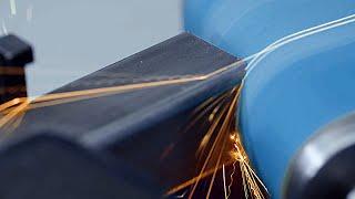 Pásová brúska na rúry a profily KRBS 101