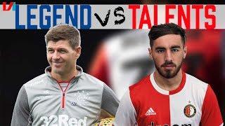 'Verwacht Dat Het Talent Van Feyenoord Gaat Winnen Van Grote Naam Rangers'