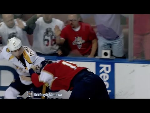 Paul Thompson vs. Mike Fisher