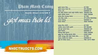 Hà Thanh – Chiều Mưa Biên Giới – Thu Âm Trước 1975