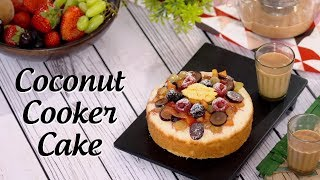 Coconut Cooker Cake By Ripu Daman Handa | Big Bazaar LIVE Cook Along
