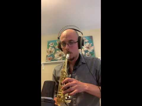 A melodic etude played on soprano saxophone