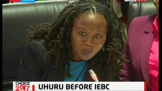 President Uhuru presents his certificates to IEBC for clearance