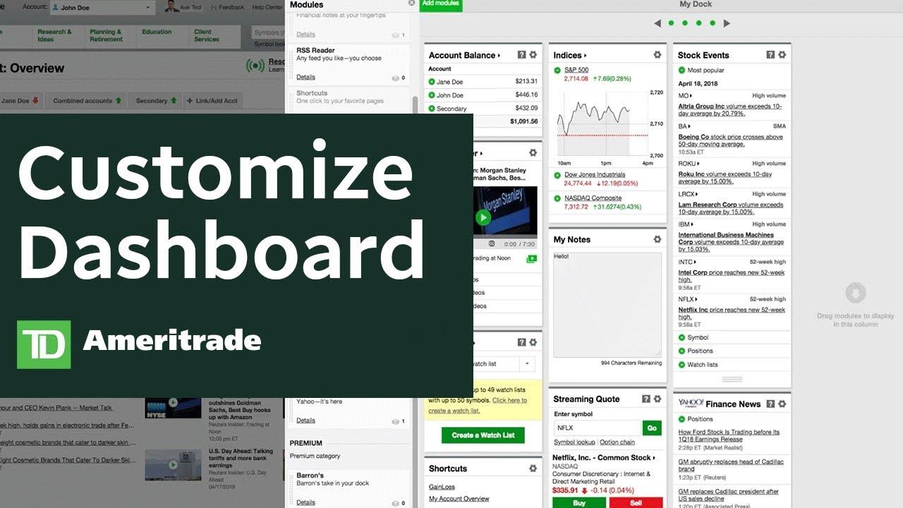 Web Platform- Ticker Tape