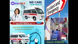 Book Trustworthy Emergency Ambulance Service in Patna and Ranchi