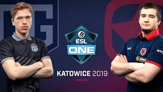 Dota 2 - OG vs. Gambit - Game 1 - LB Final - ESL One Katowice 2019