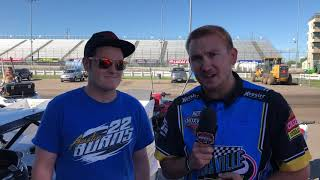 Pre-Race Interview with Ricky Thornton Jr. 9/13/2019