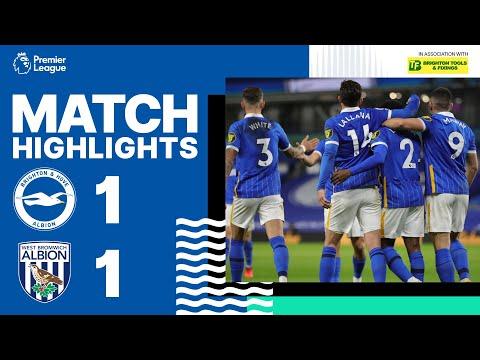FC Brighton & Hove Albion 1-1 FC WBA West Bromwich...
