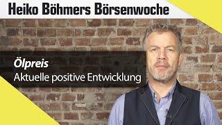 Böhmers Börsenwoche: Ölpreis und Goldman Sachs profitieren