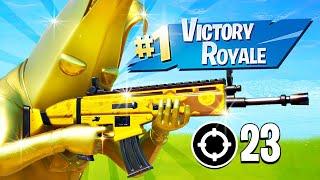 FULL GOLD PEELY UNLOCKED!! Winning in Solos! (Fortnite Battle Royale)
