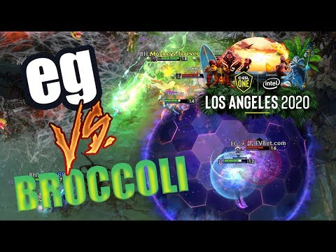 RTZ SOLO WIN!!! EG VS BROCCOLI HUNTERS - ESL ONE LOS ANGELES 2020 DOTA 2 MAJOR EU CLOSED QUALIFIERS