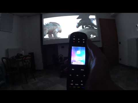 sala home cinema con videoproiettore full hd 3d optoma hd25 lv