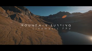 ⛰ Mountain Surfing Traualpsee - Cinematic FPV