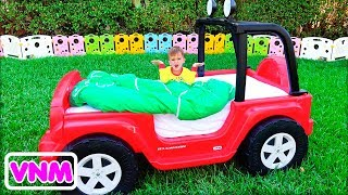 Ma thuật trẻ em biến đổi Ô tô đồ chơi từ Vlad và Nikita