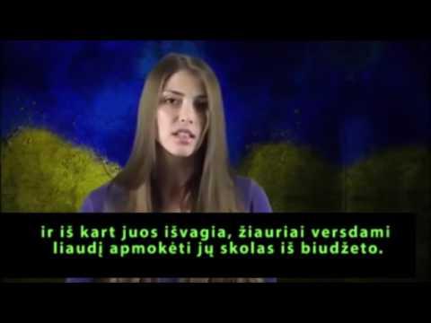 Девушка украинка обращаеться к мировому сообществу