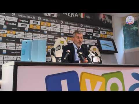 Robur Siena-Pro Piacenza, le interviste - 06/05/2017