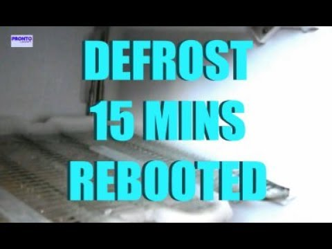 Very fast freezer defrost rebooted