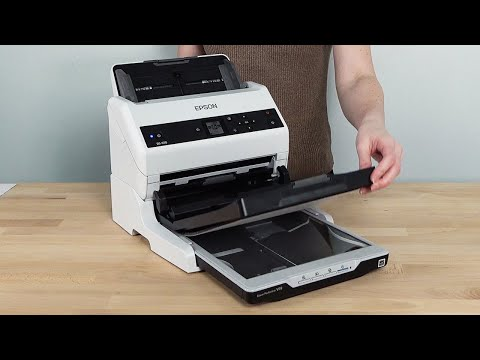 Using Your Scanner with the Flatbed Scanner Dock