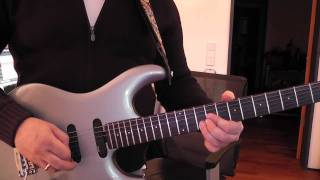 Steve Lukather - Watching the world, Solo-Lesson german