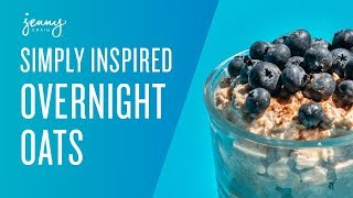 Weight Loss Recipes: Overnight Oats