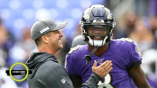 Lamar Jackson never forgot that John Harbaugh stuck with him - Ian O'Connor | Outside the Lines