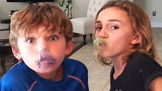 CRAZY GUM CHALLENGE | We Are The Davises